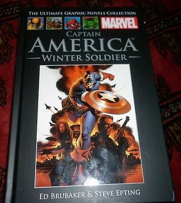 Marvel Ultimate Graphic Novels Collection #44 #7 Captain America Winter Soldier