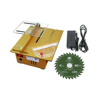 Mini Table Saw Woodworking Saw Wood PCB Cutter Cutting Machine w Adapder 7200RPM