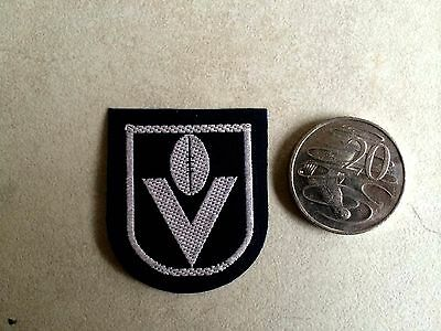 Vintage VFL league cloth patch circa 1980s - small as seen on footy shorts