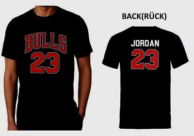 Chicago Bulls Jordan  T-Shirt U.S.A. Basketball NBA T SHIRT