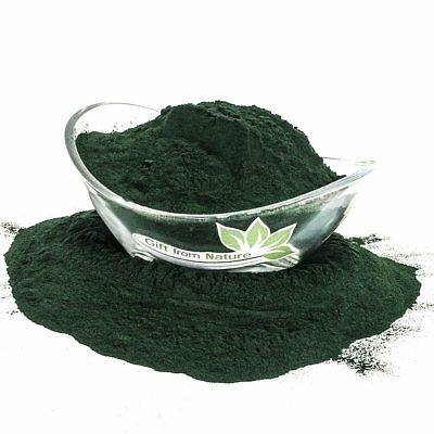Spirulina ALGAE POWDER ORGANIC Dried HERB Spirulina, Bulk Medicinal Care 100g