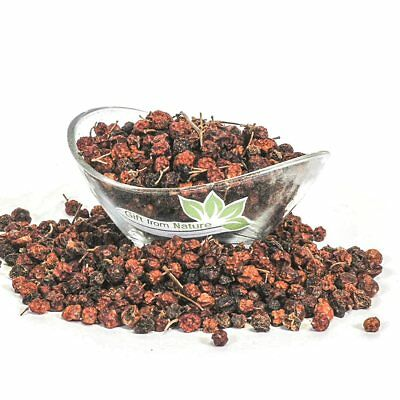 Mountain Ash BERRIES Whole ORGANIC Loose Dried HERB Sorbus aucuparia, 400g+