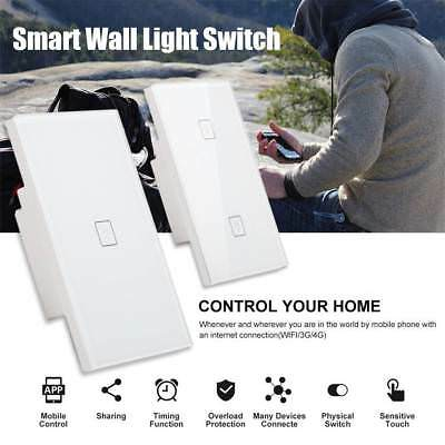 AU! WIFI Smart Touch Light Switch Dimmer for LED Downlight Google Home Control
