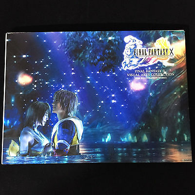 Final Fantasy X 10 Visual Art Collection Book / Japan CG & Illustration Works