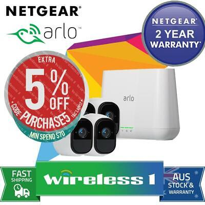 NETGEAR VMS4530 Arlo Pro Wire-Free HD Camera Security System with 5 HD Cameras