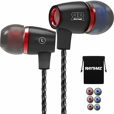 RHYTHMZ® Harmony3 - Professional In-Ear Headphones Earphones with mic and volume