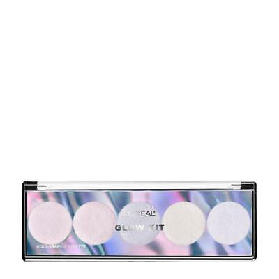 L'Oreal Highlighter Palette Glow Kit 01 Holographic