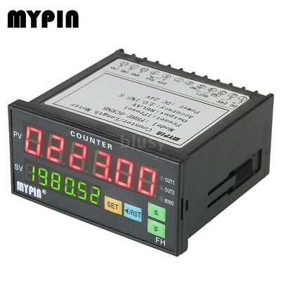 MYPIN 6 Digital Counter Length Counter Length Meter Relay Output PNP NPN Z4J3