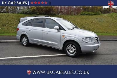 2006 Ssangyong Rodius 2.7 TD SX T-Tronic 5dr