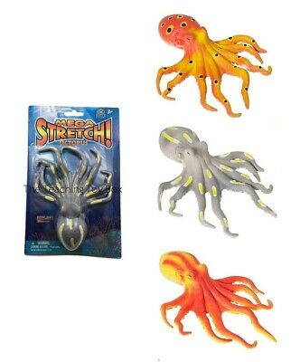 Octopus Squishy Stretchy Fidget Stress Ball Squishimal Squeezable Tactile Fidget