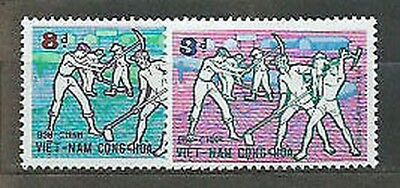 Viet nam South - Mail Yvert 416/7 Mnh