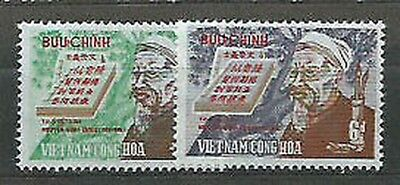 Viet nam South - Mail Yvert 385/6 Mnh