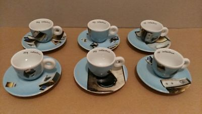 ILLY Collection 2002, Norma Jeane 6 tazze caffe, 6 caffe espresso cups