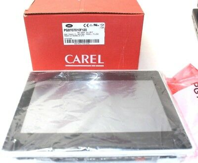 "CAREL pGD Interactive Touch Screen Display Panel 7"" PGDT07010F120 NEW"