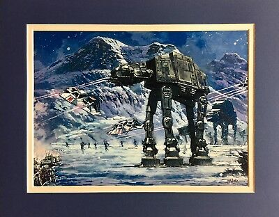 *Star Wars Officially Licensed Art by Rodel Gonzalez & Rob Kaz (Choice of 3)
