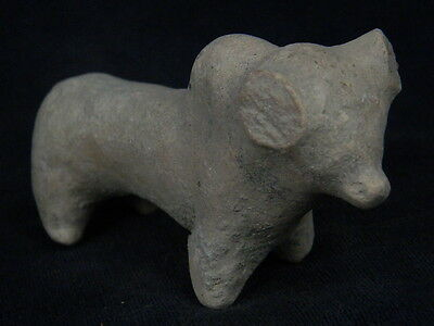 Ancient Indus Valley Teracotta Bull  C.2000 BC  #T714#