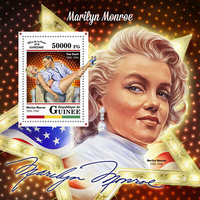 Guinea 2018 MNH Marilyn Monroe Tom Ewell 1v S/S Celebrities Stamps