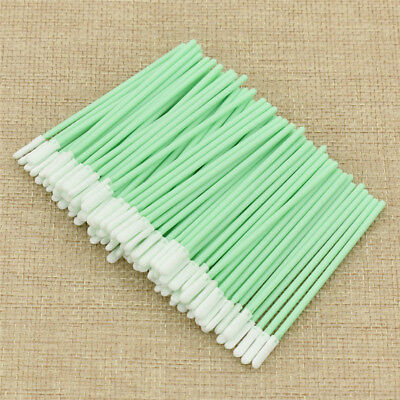 100x Small Foam Cleaning Swab Industrial Solvent Format for Business Printer