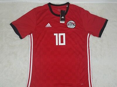 pretty nice b2a73 b7a3b MO SALAH 2018 WC Egypt national team jersey Adidas climalite size xl