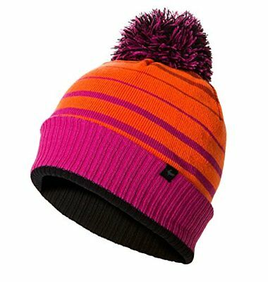 SealSkinz Bobble Bombe Femme, Neon Coral/Fluo Pink/Black, L/XL