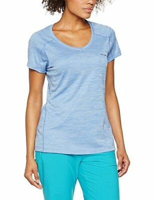 Columbia Zero Rules Tee Shirt Manches Courtes Femme, Medieval Heather, FR : M...