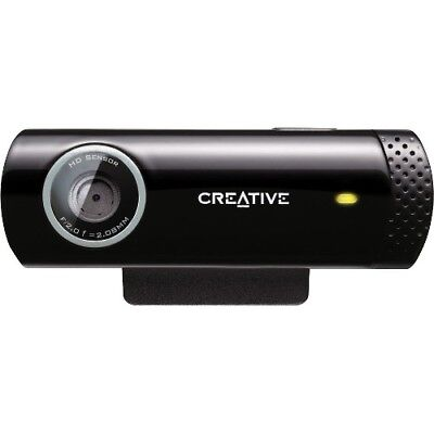 NEW Creative Labs 73VF070000000 Live! Cam Chat HD Webcam VF0700