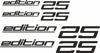 VW-Transporter T4 T5 T6 Caravelle camper van edition 25 decals stickers anycolor