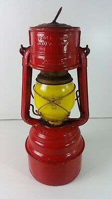 """Antike Petroleum Lampe, Laterne,"""" FEUERHAND *276* BABY SPECIAL, W. GERMANY """""""