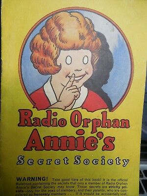 Collectibles Merchandise & Memorabilia Confident Vintage Radio Orphan Annie Secret Society Lapel Pin