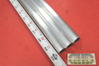 "3/4"" OD x .065"" Wall 6061 T6 ALUMINUM Round Tube 60"" long .622"" ID Seamless"