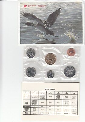 1996 Canadian  Proof like 6 coins nickel Set sealed with COA & envelope Original