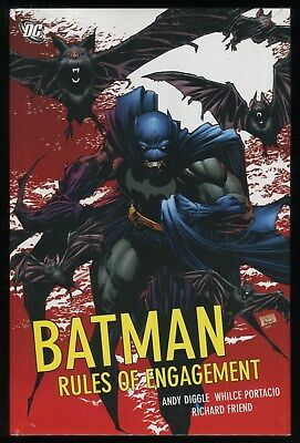 Batman Rules of Engagement Hardcover HC Dark Knight Confidential Lex Luthor New