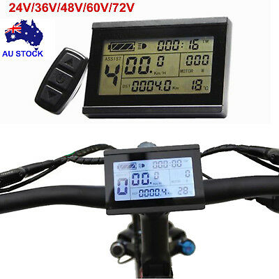 Risunmotor 24-48V KT LCD3 Display Meter/Control Panel for eBike Electric Bicycle