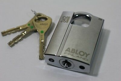 ABLOY 342 Keyed Padlock Shrouded High security lock PL342 3/8 in dia., 1in H,