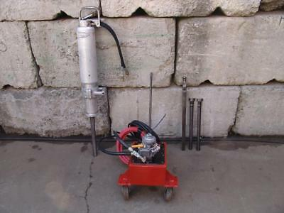 Darda Elco Hydraulic Rock Splitter Hammer   Model 5  Works Fine