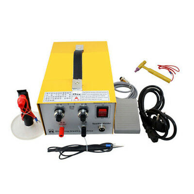 2in1 Pulse Sparkle Spot Welder Gold Silver Platinum Jewelry Welding Machine 220V