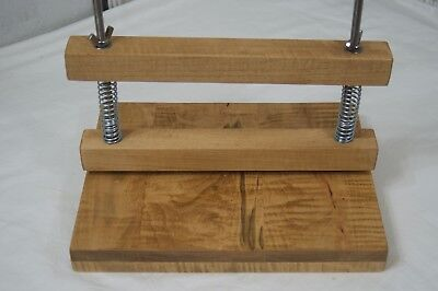 Wooden book press, Book press stand,  Bookbinding finishing press
