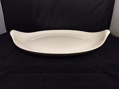 Crate And Barrel Classic Century 15 Oval Serving Platter 35 00