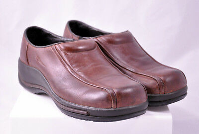 Dansko Women's Professional Clogs Brown Oiled Leather Size 40 US 9.5-10