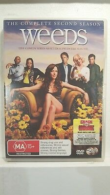Weeds : Season 2 [ 2 DVD Set ] LIKE NEW, Region 4, FREE Next Day Post from, NSW
