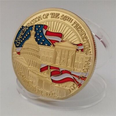 U.S. President Barack Obama & White House 2 Sides Commemorative Coin Collection