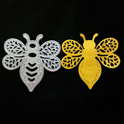 Vivid Bee-shaped Cutting Dies Stencil For Scrapbooking Album Paper Card Craft  X