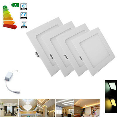 Dimmable Recessed LED Ceiling Panel Light 6W 9W12W 15W 18W 21W Epistar Downlight