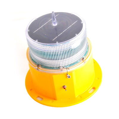 OBS10 Flashing Red Solar Low Intensity Obstruction/Warning/Signal/Tower Light