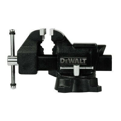 DEWALT 5 in. Heavy Duty Workshop Bench Vise with Swivel Base DXCMWSV5 New