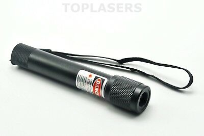 Focusable 1mW 980nm Infrared IR Laser Pointer Portable Torch Type 14500 Battery