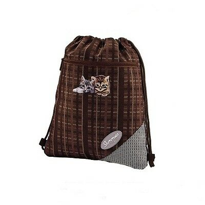 "Sammies by Samsonite® Optilight Sportbeutel Turnbeutel Katze ""Cats"" - NEU !"