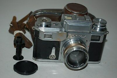 Zeiss Ikon Contax-III Rangefinder Camera & Case. Serviced. 1936. B63507. UK Sale