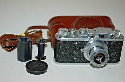 Fed 1, Type G, Vintage 1954 Soviet Rangefinder Camera. (No.515542) UK Sale.
