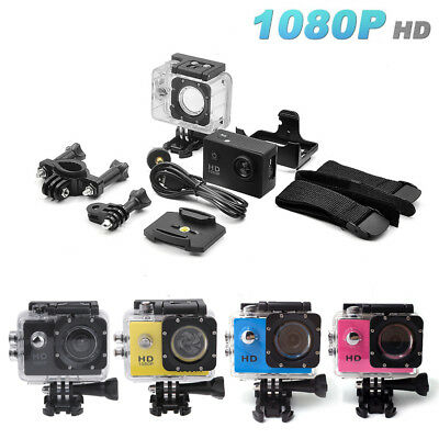 SJ4000 1080P Sports DV Action Camera Full HD Waterproof Camcorder GoPro 4 Colors